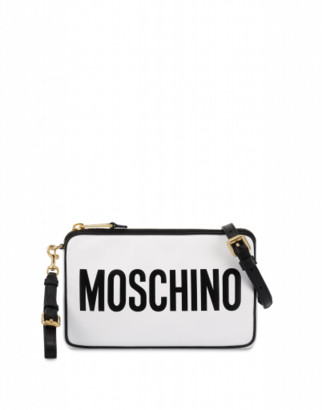 Moschino Shoulder Bag With Logo Woman White Size U It - (one Size Us)