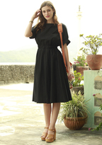 Shabby Apple Falcon Dress Black