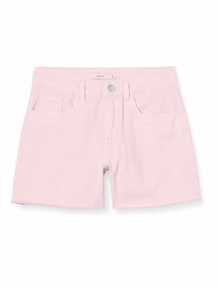 Name It Girl's Nkfrandi Mom Twiizza Shorts Camp