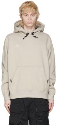 Nike ACG Beige Pullover Hoodie