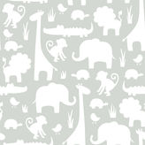 Asstd National Brand It's A Jungle In Here Peel-and-Stick Wallpaper