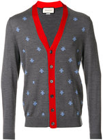 Gucci cardigan with bees and stars