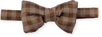 Tom Ford Plaid Classic Bow Tie