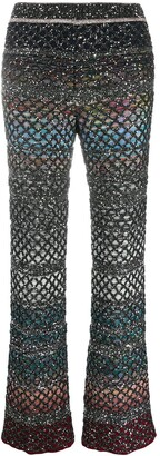 Missoni Flared Knit Trousers