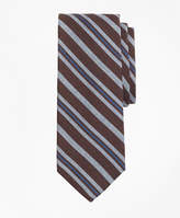 Brooks Brothers Alternating Stripe Print Tie