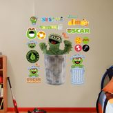 Fathead Sesame Street Oscar the Grouch Wall Decals by