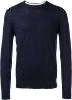 Joseph Suede patch jumper - men - Merino - S