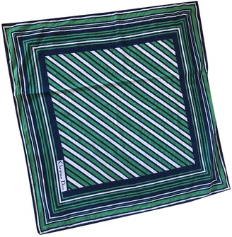 Christian Dior Green Cotton Scarves