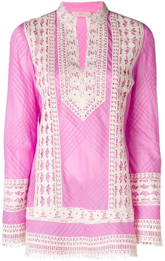 fd52042f750 Cotton Floral Tunic - ShopStyle UK