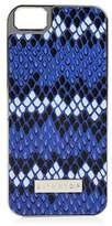 Skinnydip **blue snake zigzag iphone 5 case