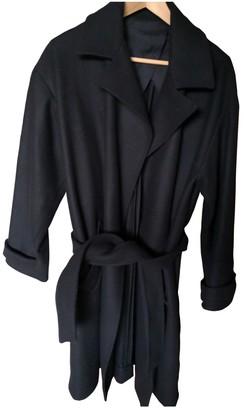 Laurence Dolige Black Wool Coat for Women