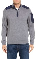 Vineyard Vines Men's Quarter Zip Performance Sweater