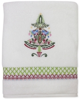 Dena CLOSEOUT! Peppermint Twist Embroidered Bath Towel