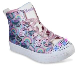 Skechers S Lights Twi-Lites Unicorn Vibes Light-Up Sneaker - Kids'