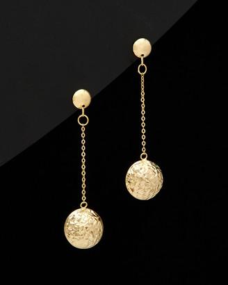 Italian Gold 14K Ball Earrings