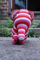Anagibb Knitted Elephant Cotton Toy With The Rattle
