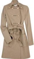 Felt military coat