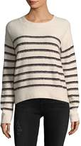 Vince Women's Breton Stripe Pullover