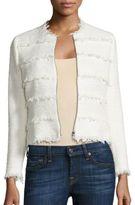 Rebecca Taylor Textured Tweed Jacket