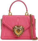 Dolce & Gabbana MINI DEVOTION MOIRE BAG
