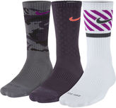 Nike 3-pk. Mens Dri-FIT Triple Fly Crew Socks - Big & Tall
