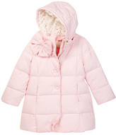 Kate Spade bow neck puffer coat (Big Girls)