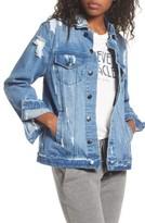 Spiritual Gangster Women's I Am The Light Denim Jacket