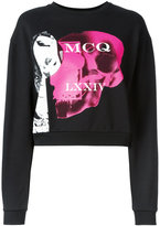 McQ by Alexander McQueen printed sweatshirt - women - Cotton - S