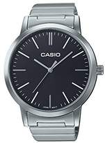 Casio Unisex Collection Analogue Quartz Watch with Stainless Steel Bracelet LTP-E118D-7AEF