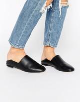 Aldo Rubey Mule Leather Flat Shoes