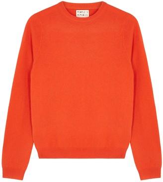 People's Republic Of Cashmere Orange Cashmere Jumper