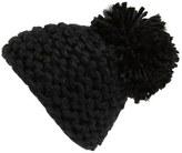 BCBGeneration Women's Knit Pompom Beanie - Black
