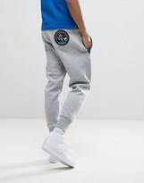 Love Moschino Slim Fit Joggers With Back Patch And Zips