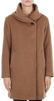 Gerard Darel Gaia Shawl Collar Wool Coat
