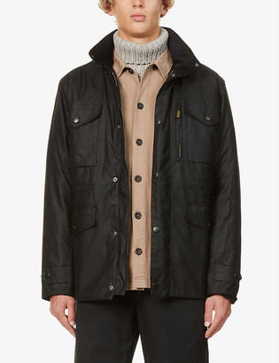 Barbour Sapper waxed-cotton jacket