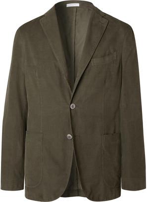 Boglioli Light-Blue K-Jacket Slim-Fit Unstructured Cotton-Corduroy Suit Jacket