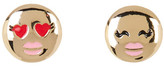 BCBGeneration Enamel Detail Emoji Stud Earrings