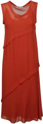 Acne Studios Layered Sleeveless Lace Dress