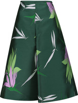 Marni Pleated jacquard skirt