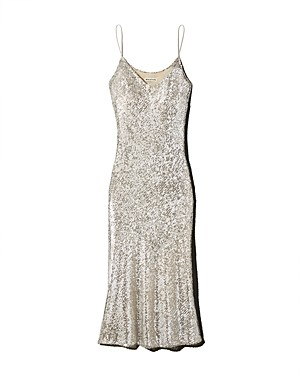 Whistles Dagma Sequined Slip Dress