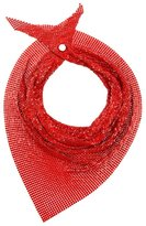 Paco Rabanne sequin scarf - women - metal - One Size