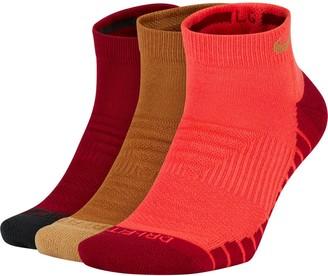 Nike Unisex Everyday 3-pack Max Cushion No-Show Training Socks
