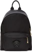 Versace Black Nylon Medusa Backpack