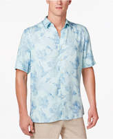 Tasso Elba Men's Linefish Print Shirt, Created for Macy's