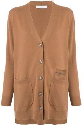 Fabiana Filippi long buttoned cardigan