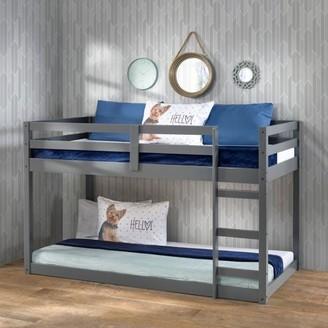 ACME Furniture Gaston Loft Bed in Gray