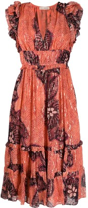 Ulla Johnson Akira flared dress