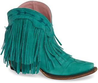Lane Boots x Junk Gypsy Spitfire Fringe Bootie