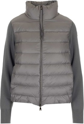 Moncler Logo Patch Padded Jacket