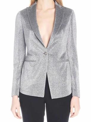 Tagliatore Gilda Button-Front Blazer